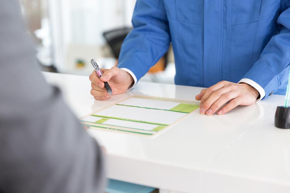受給者証申請(役所へ申請)