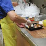 調理補助の訓練